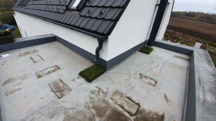 Příprava pokládky zelené střechy ECOSEDUM PACK
